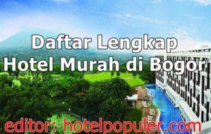 Hotel Murah di Bogor Dibawah 200 Ribu Fasilitas Ada Kolam Renang