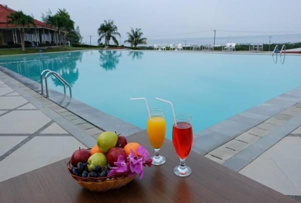 View Kolam Renang Grage Hotel Bengkulu
