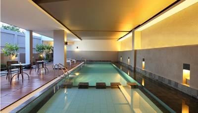 Kolam Renang Hotel Santika Bengkulu
