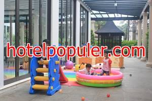 Hotel Royal Padjadjaran penginapan sekitar stasiun bogor yg ada permainan anak