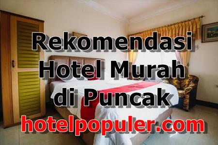 Hotel Murah di Puncak Pass Bogor