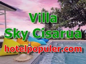 Villa Sky Cisarua Lokasi Strategis