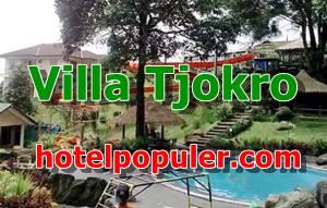 Villa Tjokro Puncak dibawah 1 Juta Ada Kolam Renang